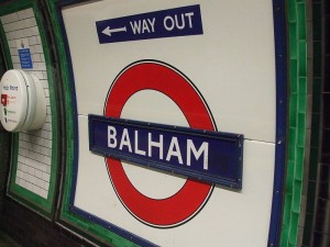 Balham station Northern line